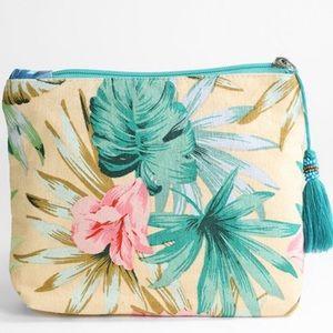 Hawaiian makeup bag